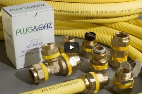 Plug&Gaz : installation du kit PLT